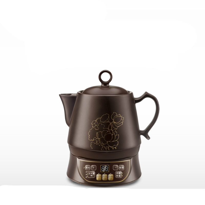 Electric kettle Ceramic full automatic intelligent health raising pot frying traditional Chinese medicine multi-functional health raising pot is fully automatic and thickened glass