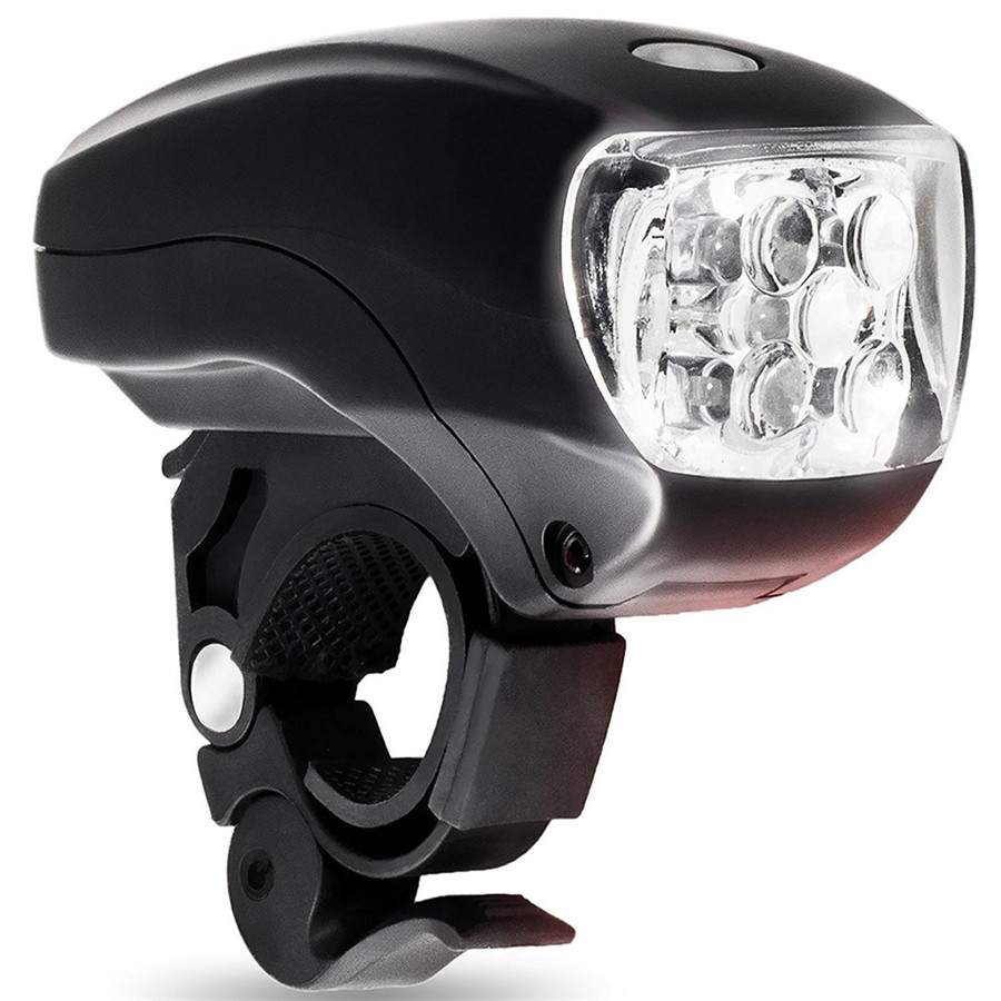2017 New Cycling Bike Bicycle Super Bright 5 LED Front Head Light Lamp 3-Modes Torch Front lights
