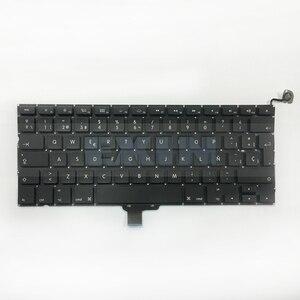 """Image 4 - OEM NUOVO per Macbook Pro 13 """"Unibody A1278 Tastiera Spagnolo Spagna SP Lingua + Retroilluminazione Retroilluminato + Viti 2009  2012 Anni"""