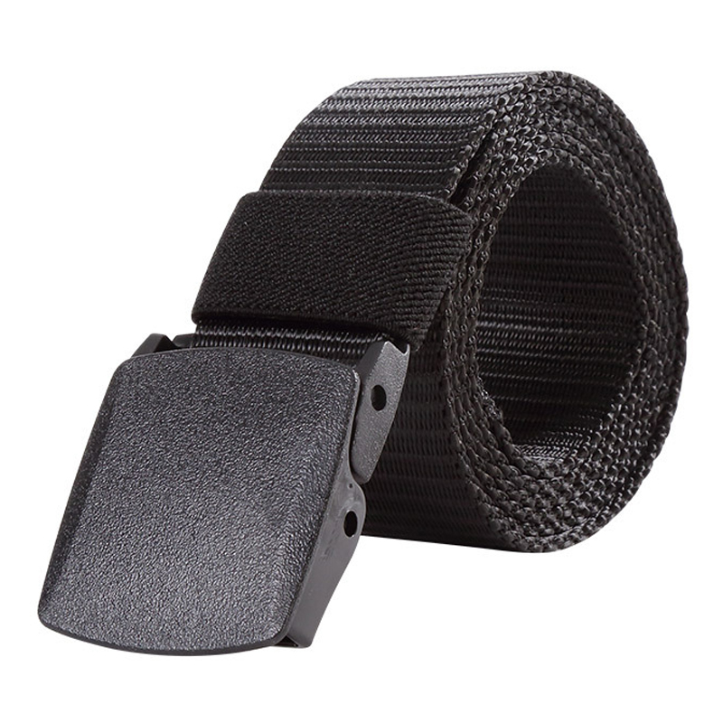125CM Length Mens Womens Outdoor Metal Buckle Nylon YKK Waist Belts Multicam Molle Automatic Buckle Army Tactical Military Belt