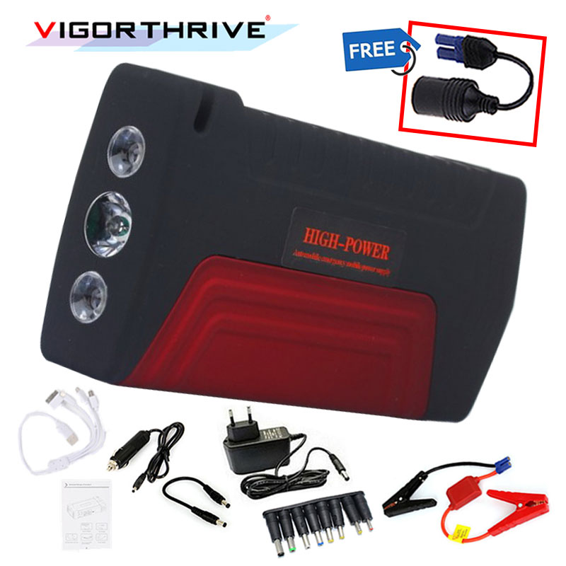 Mini Emergency Peak Portable 600A 12v Car Jump Starter Auto Battery Booster Power Bank For Petrol car Starting Device