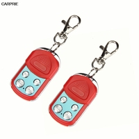 Red Universal Electric Garage Gate Door Cloning Remote Control Key Fob 433 92mhz