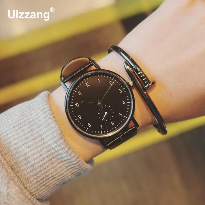 New Unique School Style Unisex Casual Quartz Watches Cool Men Women Wristwatch Gift To Students Boys Girls Drop Shipping