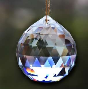 10pcs + FREE RETURNAAA Top Quality hang 30mm ASSORTED Colours K9 Faceted Crystal Balls decoration ball and wedding gift