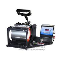 Sublimation presse maschine für Becher druck Tragbare Digitale Becher Hitze Presse Maschine für 11 unzen becher-in Lötstationen aus Werkzeug bei