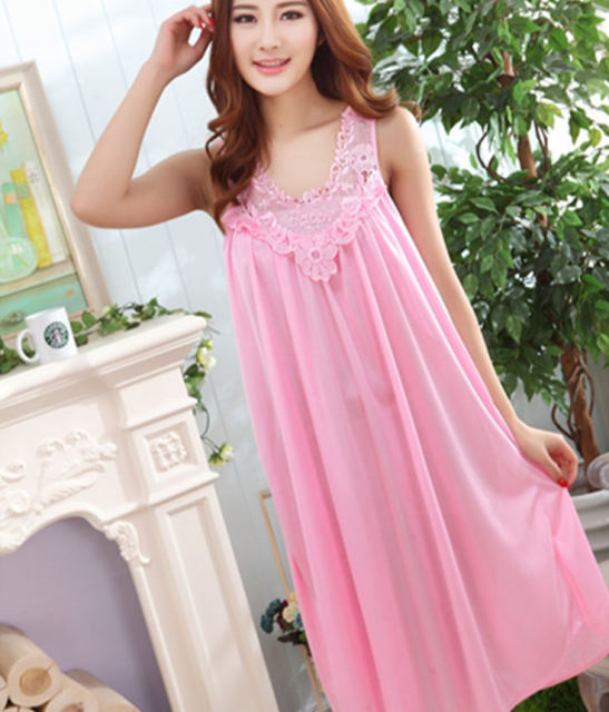 2017 New Arrival Fashion Sexy Women Nightgown,Hot Sale For ladies for summer,autumn new Sleepwears freeshipping 295