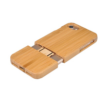 Luxury Protective Dirt-Resistant Eco-Friendly Bamboo Phone Case
