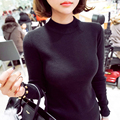 2017 new women cashmere sweater women warm turtleneck sweaters fashion soft knitted wool pullovers sweater cashmere clothes