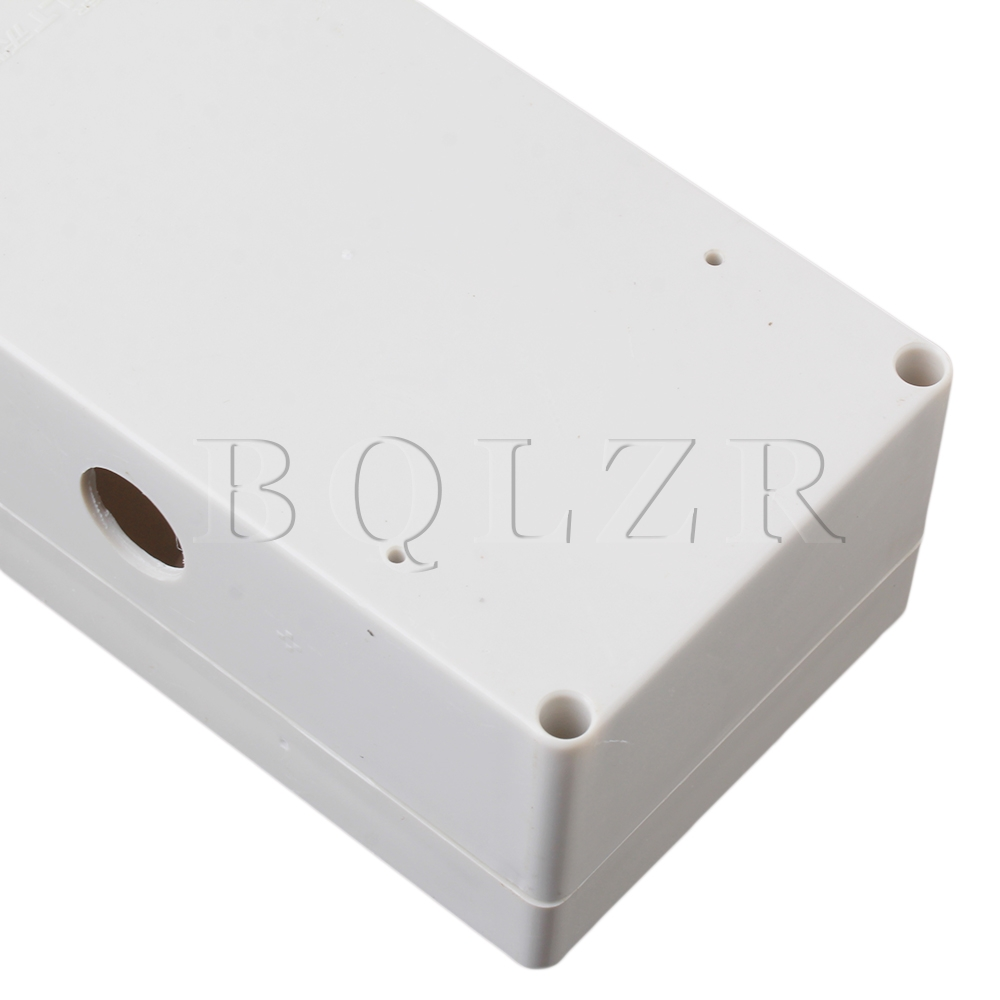 Bqlzr Grey White 12 Bit Waterproof Connector Electric Junction Box 1 Wiring Bq To 4 In Connectors From Lights Lighting On Alibaba Group