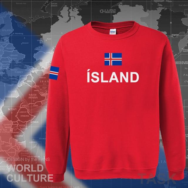 Iceland hoodie men sweatshirt sweat new hip hop streetwear island nation clothing 2017 sporting country ISL Icelander Icelandic 3