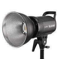 Godox SL 60W White Version LED Video Light Bowens Mount 5600K for Photography Studio Video Recording