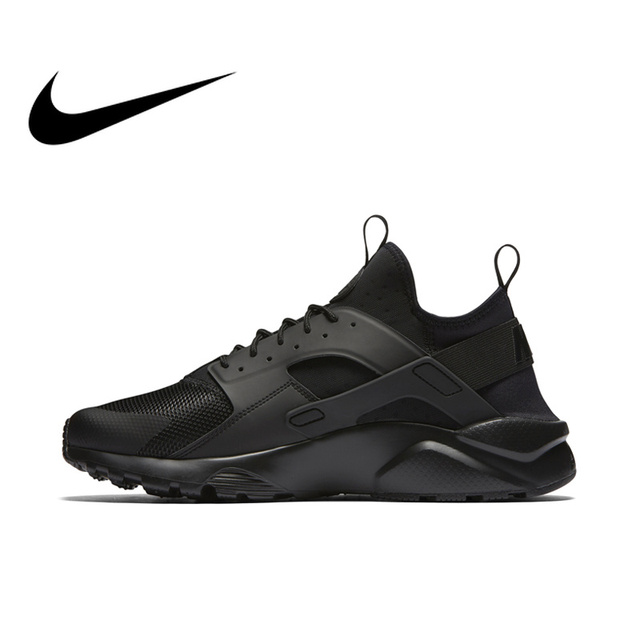 2a8b00ab65021 Original Official NIKE AIR HUARACHE RUN ULTRA Men s Running Shoes Sneakers  819685 Outdoor Ultra Boost Athletic