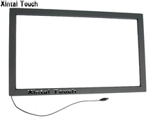 9PCS 43 inch infrared multi touch screen overlay kit with usb port , IR touch frame without glass for 4 touch points