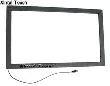 9 UNIDS 43 pulgadas infrarrojo multi touch screen overlay kit con puerto usb, marco táctil IR sin el vidrio para 4 puntos de contacto