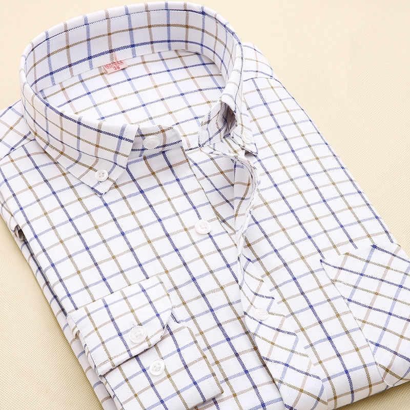 2016男性カジュアルシャツ新しいファッション英国スタイルメンズロング袖チェック柄スリムフィットネス高品質コットンドレスシャツs-4xl m026