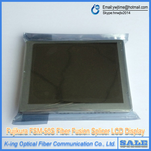 Fibra Óptica Fusionadora Fujikura FSM-50S Pantalla LCD