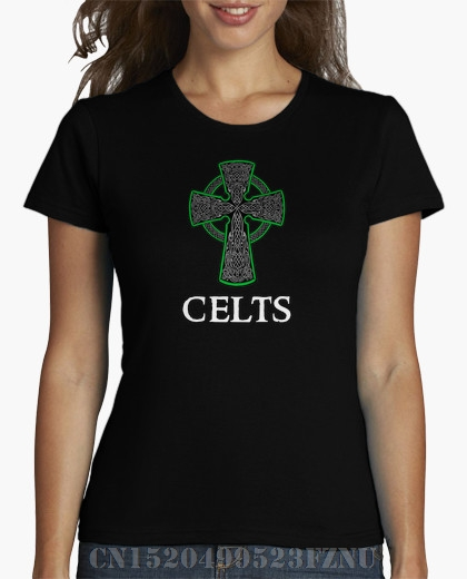 brand clothing black friday womens t shirt Celts girl Short Character Cotton anime womens Hipster Tees