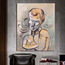 Man With Arms Pablo Picasso Wall Art Canvas Painting Posters Prints Modern Picture For Living Room Home Decor