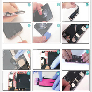 Image 5 - Nouvelle batterie de téléphone de qualité AAAAA pour iPhone 6 S 6plus 7 7plus 8 Kit dautocollants doutils sans Cycle haute capacité réelle