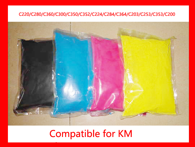 High quality developer powder compatible for Konica Minolta Bizhub c220/c280/c360/220/280/360 Free Shipping DHL FEDEX dr311 drum unit for konica minolta bizhub c 220 280 360 color copier consumables c220 c280 c360 drum kit dr 311 m high quality