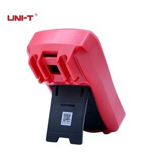 Image 4 - Palm boyut dijital multimetreler UNI T UT33C + profesyonel elektrik el Tester LCR metre ampermetre Multitester 40 1000C