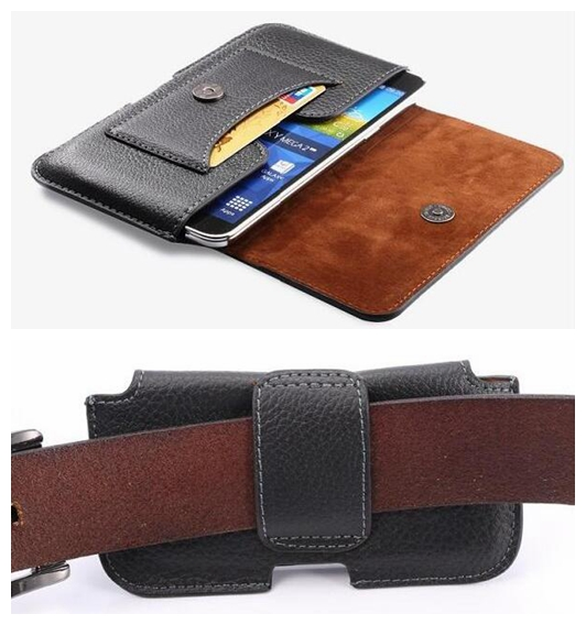 2016 A3 J1 J2 4.8 Mobile Phone Bag for Samsung Galaxy S2 S3 S4 S5 mini Case Durable Leather Belt Clip Magnetic Buckle Cover