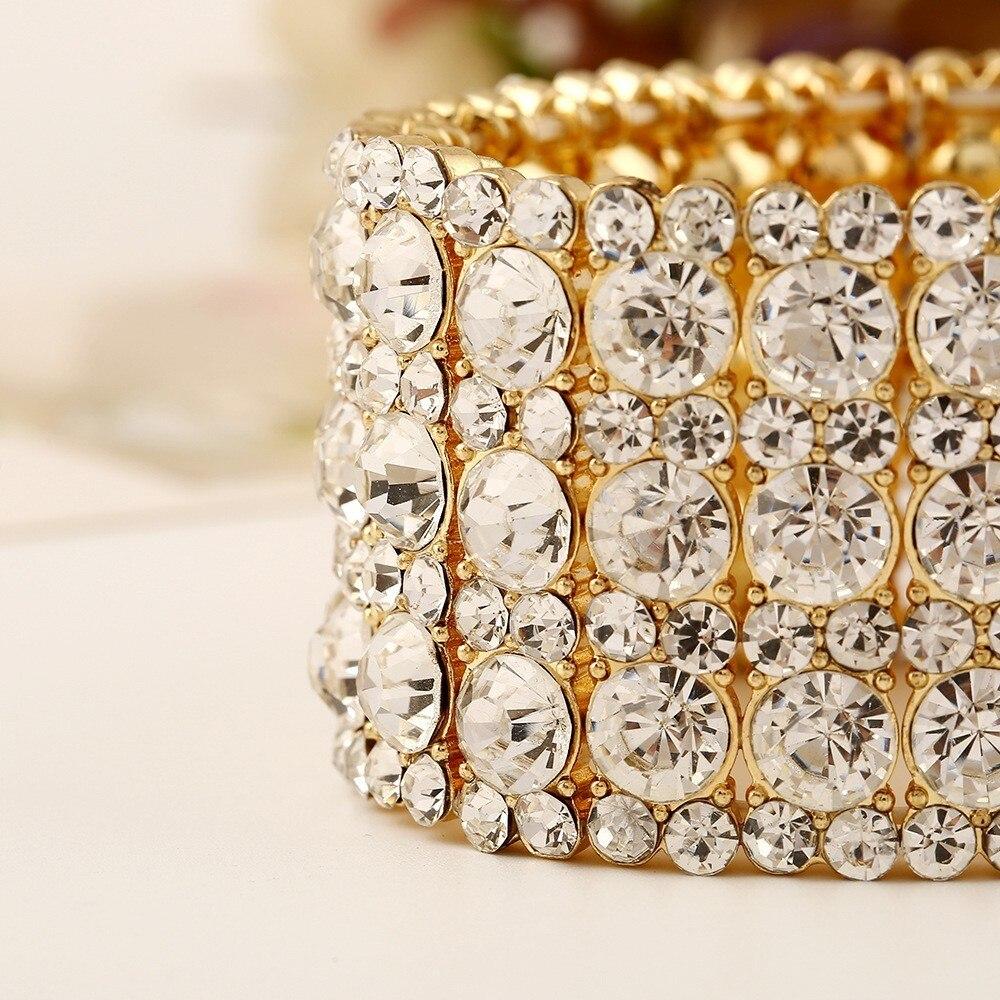 pulseira ajustável elástico pulseiras festa casamento presente mulher pulseira jóias