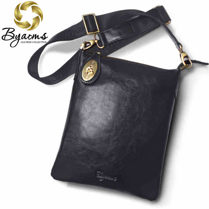 Free Shipping 2 Colors Genuine Leather Men Messenger Bags Genuine Leather Bags Fashion Men Bags 1216