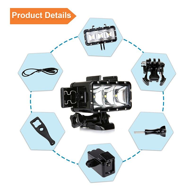 Colorado Shooting Light: Underwater Flash Diving Shooting Fill Light Lamp