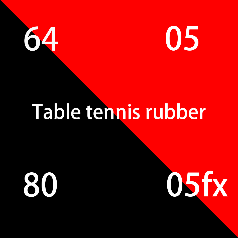 Sale high quality red sponge table tennis rubber blade table tennis table tennis table tennis racket ping pong rubber
