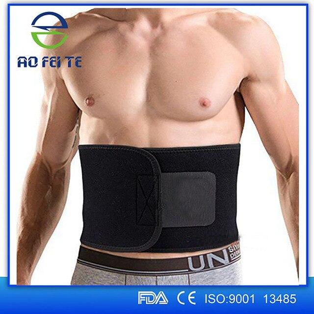 Women Men Abdominal Slimming Belt Back Braces Supports Sports Belts Waist Slimmer Tummy Trimmer Breathable Belt 100cm Y079 2