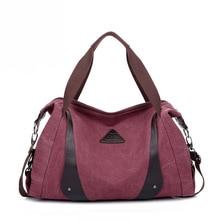 2017 neue Vintage frauen Halbmond Leinwand Einzelnen Schulter Taschen Weibliche Eropean und Amerikanische Einfache Handtaschen Dame Tragetaschen