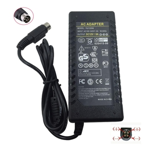 Image 1 - 12V6A 4 Pin  AC DC Adapter With IC Chip Switching Power Supply 12V 6A 72W For LCD TV Monitor Adapter Converter TV DVR Charger