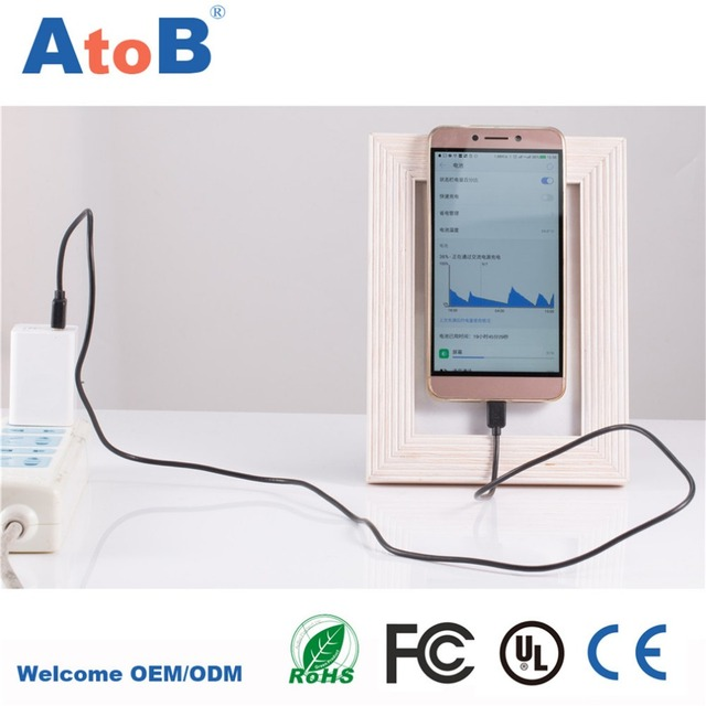 ATOB New Original Type C Cable PC PVC and Metal Plug Type-C USB Charger for Xiaomi 4C /Letv Nokia /For Macbook Oneplus Date wire