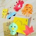 Милые животные DIY бумаги вырежьте книга 3-6 лет детский сад Детские игрушки Дети образовательные игрушки