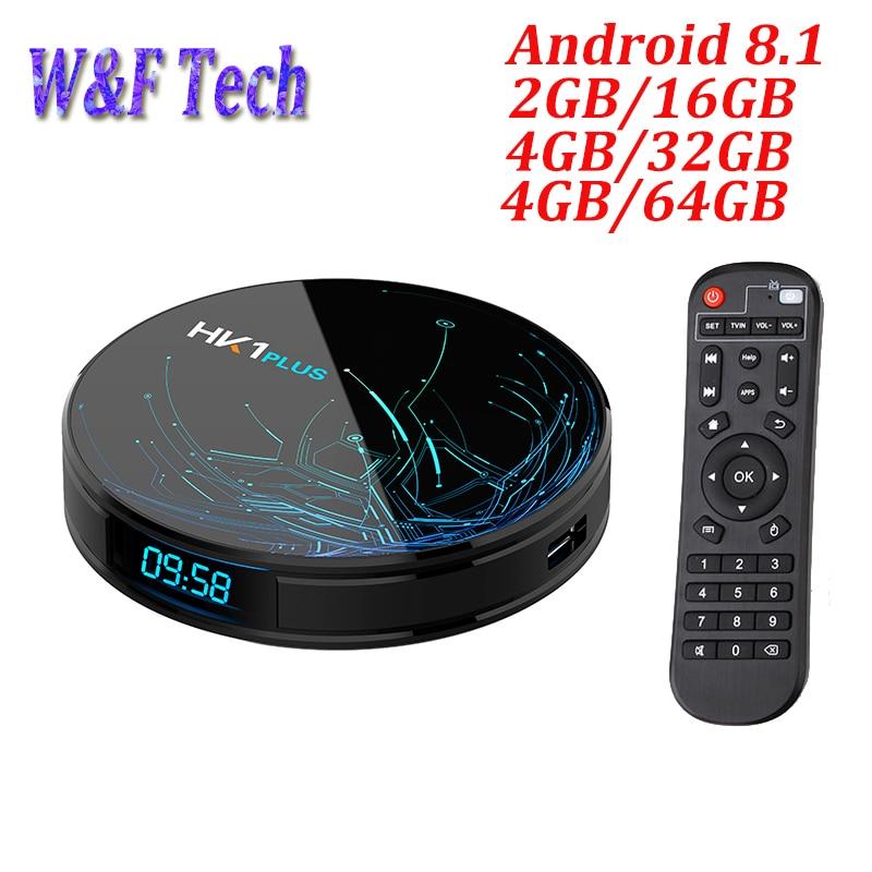 HK1 PLUS Android 8.1 TV BOX 4GB 64GB Amlogic S905X2 Quad Core 2.4G 5G Wifi BT4.0 USB3.0 H.265 4K Netflix Youtube Google PlayHK1 PLUS Android 8.1 TV BOX 4GB 64GB Amlogic S905X2 Quad Core 2.4G 5G Wifi BT4.0 USB3.0 H.265 4K Netflix Youtube Google Play