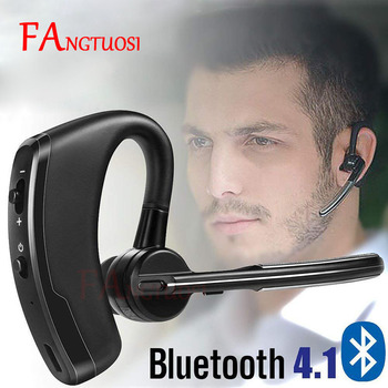 FANGTUOSI Wireless Bluetooth Headset Business stereo Phone Earphone For iPhone X 8 7 PLUS Sport Handsfree MIC Music Headset