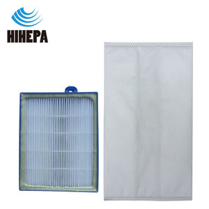 Image 4 - 10pcs S bag Dust Bags and 1pcs H12 Vacuum Cleaner HEPA Filter for Philips Electrolux FC9083 FC9087 FC9088 Vacuum Cleaner Parts