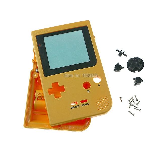 Replacement Repair Full Shell Housing Pack Case Cover full housing shell case with buttons For Game Boy Pocket GBP
