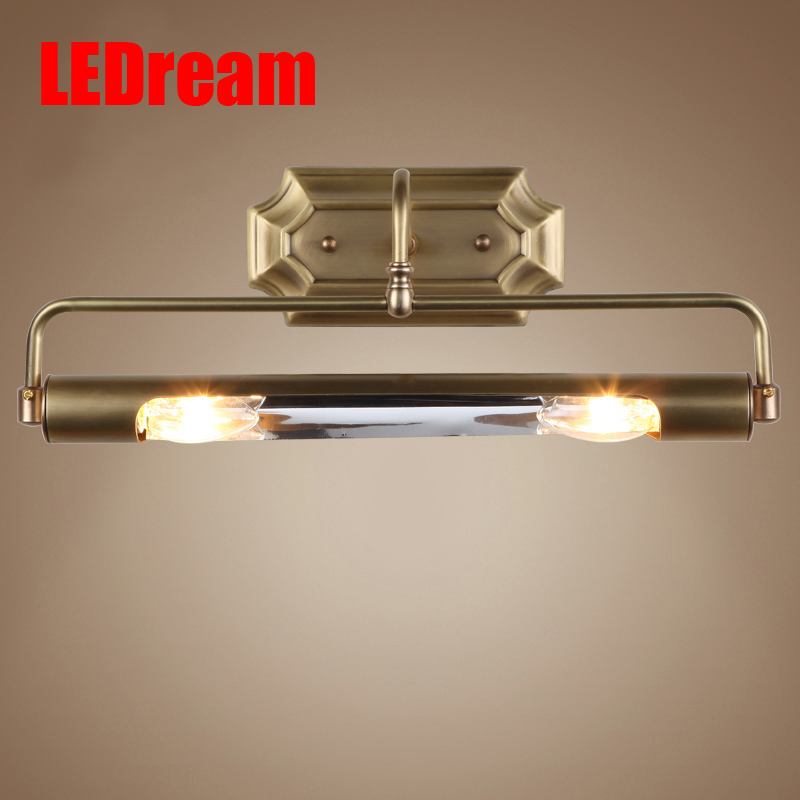 Modern E14 90-260V LED Mirror Front Light bedroom Wall Lamp Wall Mounted LED Bathroom Wall Light Lamp Makeup light dressing tabl modern bathroom led mirror light 520 80 75mm 90 260v 12w 4 heads aluminum acryl led wall sconce led bed lamp 100% quality guaran
