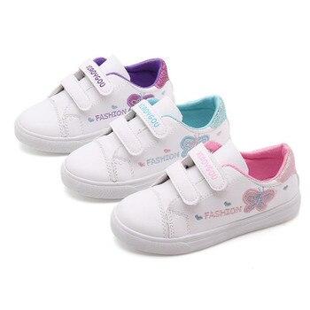 4515c687 Haochenjiade PRIMAVERA/otoño niños zapatos niñas deportes zapatos moda marca  Casual transpirable al aire libre niños Zapatillas Zapatos Niños