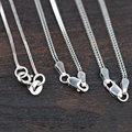 3 видов Фокстейл Цепь 925 Серебряное Ожерелье для Женщины Мужчины Ювелирные Изделия Тайский S925 ЧИСТОГО Серебра Изготовление Ювелирных Изделий