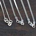 3 Tipos de Cadeia Foxtail 925 Colar para Mulheres Homens Jóias de Prata Thai S925 Esterlina Fabricação de Jóias de Prata Sólida