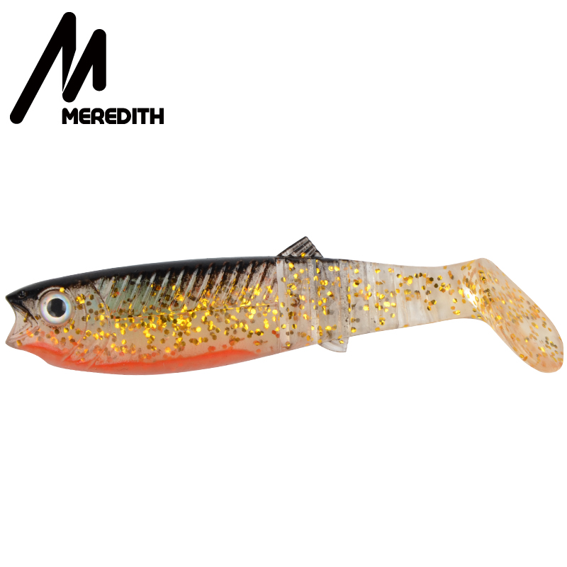 MEREDITH 3PCS 22g 12.5cm Cannibal Soft Lures Shads Fishing Fish Lures Fishing Lures mykt fiske baits JX62-12