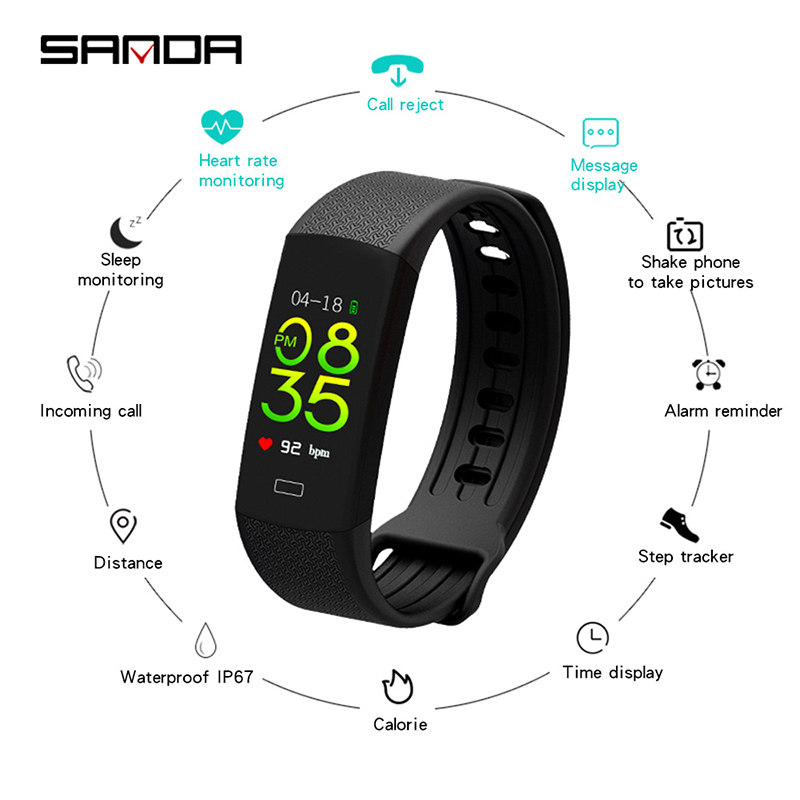 2019 new women smart watch android waterproof  Rubber  Hidden Clasp  3Bar  Sport  Message Reminder  Call Reminder  Auto Date2019 new women smart watch android waterproof  Rubber  Hidden Clasp  3Bar  Sport  Message Reminder  Call Reminder  Auto Date