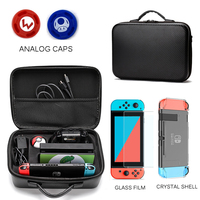 Game Storage Bag for Nintend Switch Travel Carrying Box Hard Shell Case for NS Console Pokeball Nintendos Switch Accessories