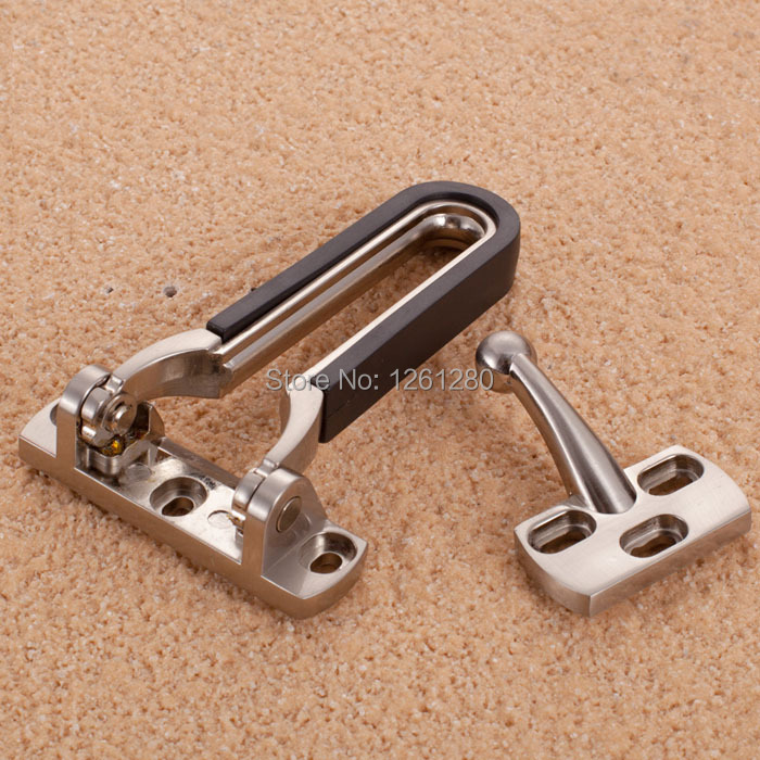 free shipping Anti-theft deduction thick door security chain buckle hotel home door bolt lock household hardware part latch thick door security buckle lock zinc alloy casting anti theft deduction chain bolt wooden doors security anti lock cp406