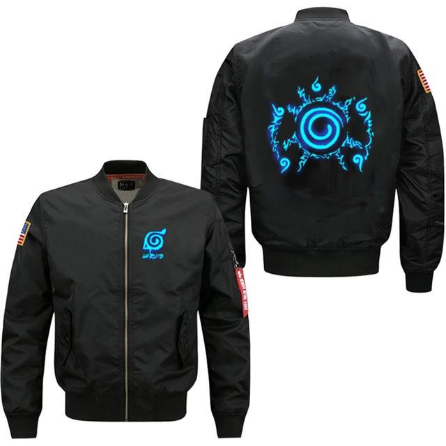 Naruto Seal Bomber Jacket (3 Colors)