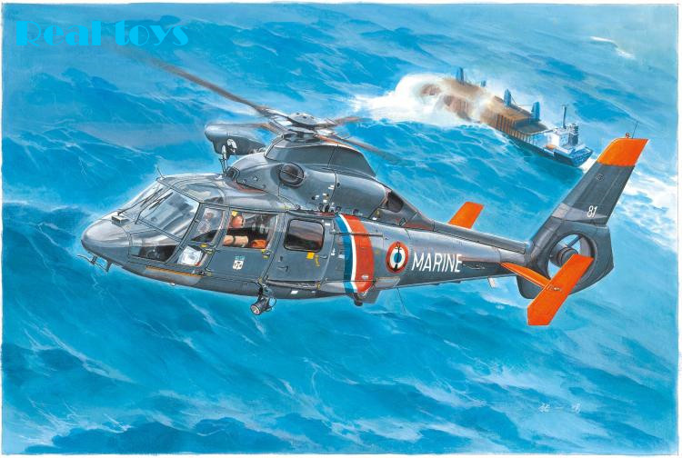все цены на Trumpeter MODEL 05106 1/35 AS365N2 Dauphin 2 plastic model kit онлайн