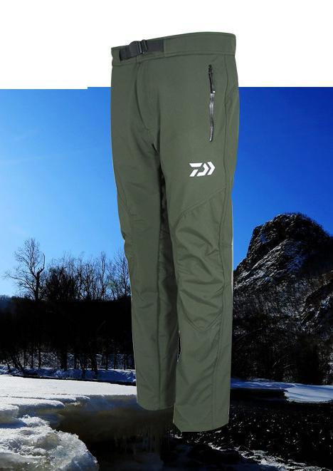2017 Brand  Winter Outdoor Warmth Warm Sports Pants Professional Men Fishing Pants Waterproof Pants Breathable Soft Shell Fleece professional sports kneepad warm air drying